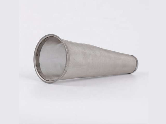 Cone Shaped Stainless Steel Mesh Sieve
